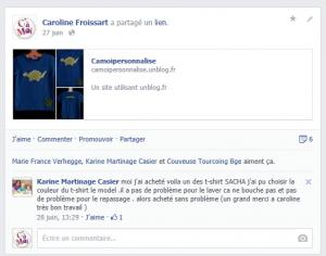 Commentaire client dans Commentaires clients Facebook com-karine1-300x236